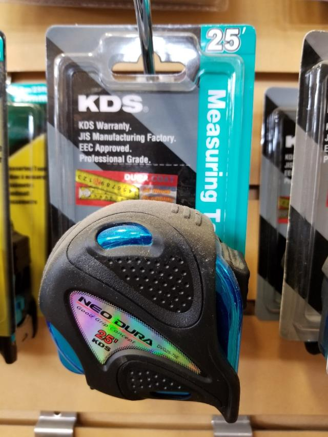 Where to find KDS MEASURING TAPE 25FT- STD in Saskatoon