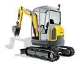 Rental store for EXCAVATOR, WACKER 28Z 5900LB in Saskatoon SK